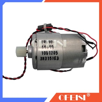 NEW CQ890-60199 For designjet T120 T520 Paper-Axis Motor Assembly Brand new Plotter parts ink belt motor CQ890A CQ891A CQ893A