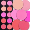 10 Color Makeup Cosmetic Blusher Powder Blush Palette Professional Makeup Face Blush+ Angled Contour Brush