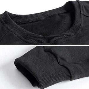 Image 5 - 男性の大サイズのスウェットシャツ長袖 6XL 7XL 8XL 9XL 10XL カジュアル迷彩黒青少年トレーナー