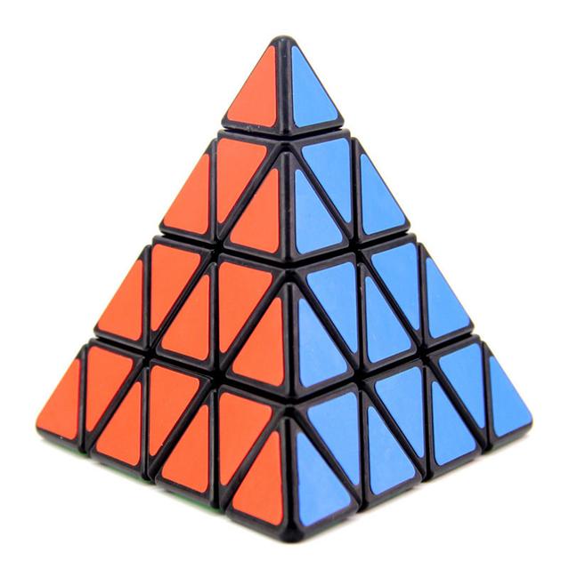 Shengshou Pyraminx Velocidad de 100mm 4x4x4 Cubo Mágico Puzzle Cubos juguetes Educativos Juguetes Para Niños Niños bebé