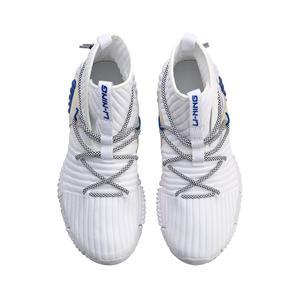 Image 5 - Li ning zapatillas de estilo de vida para hombre, de corte alto, Mono hilo de reajuste, forro Li Ning, zapatillas deportivas AGLN131 YXB237