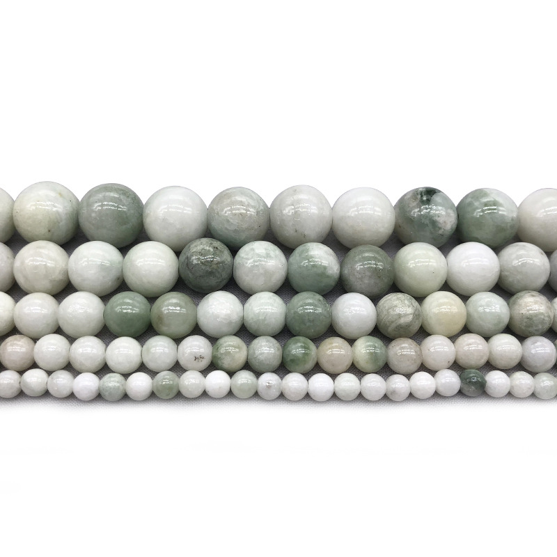 Natural Stone Beads Tridacna Stone White Round Beads For Jewelry Making Bracelet Necklace Size 4/6/8/10/12 Mm Beads & Jewelry Making Jewelry & Accessories