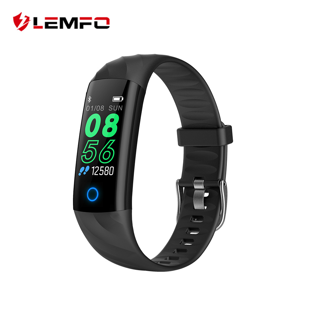 LEMFO Sport Smart Armband IP68 Wasserdichte Farbe Bildschirm Smart Band Herz Rate Blutdruck Schrittzähler Aktivität Tracker