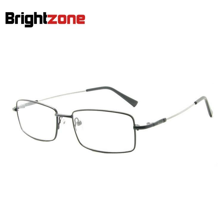 Bestselling Light Memory Titanium Metal Single Bridge Flexible Temple Optical Eyeglasses Prescription Spectacles Frame Briller