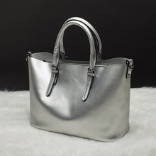 2016 New Europe Style Women Bag handbags Luxury Pearlescent Skin Shoulder Bag Genuine Cow Leather Messenger Bag Brand Designer