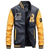 riverdale southside serpents riverdale Jacket Men Embroidery Baseball Jackets Leather Coats Slim Fit College Jackets Coats