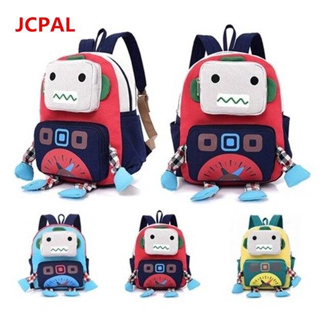 3149917d19b6 New Cartoon Robot School Bags For Boys Little Children Backpacks Kids  Schoolbag Cool Backpack School Mochila Escolar Infantil