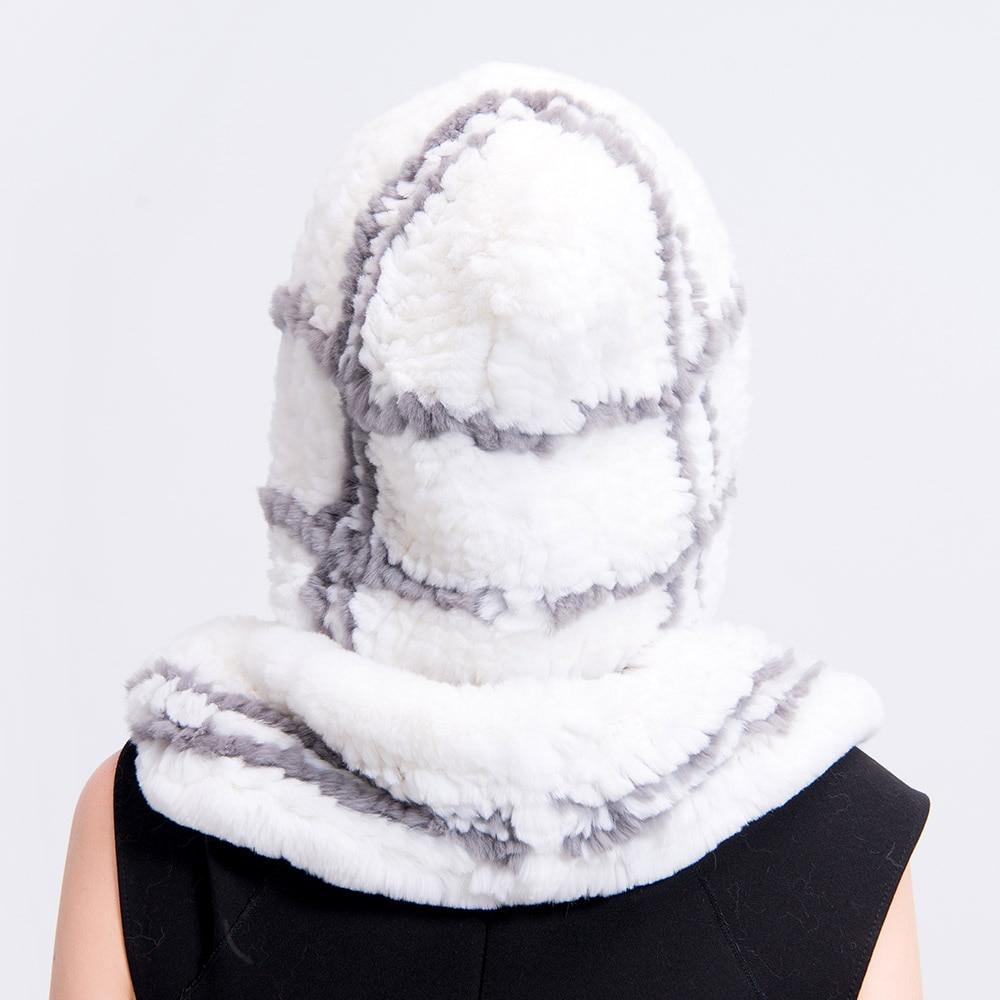 rex rabbit fur hat plaid (10)