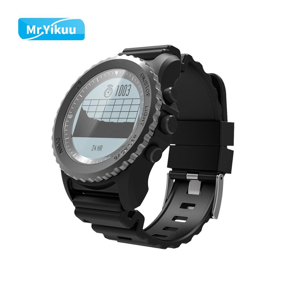 GPS Professionale di Sport Intelligente Orologio Temperatura Dell'acqua Track Record Barometro Per Il Triathlon iPhone 8 Samsung Xiaomi Huawei Orologio