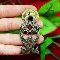 Dobro chinês dragão de bronze antigo gaveta puxador de cabo de móveis puxa 60 mm x 25 mm do Vintage