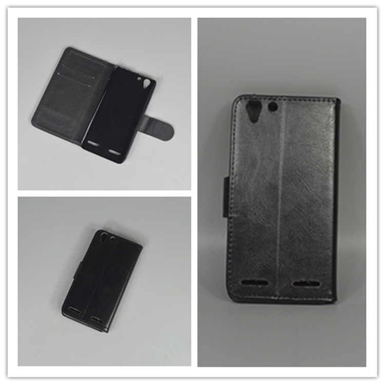 Crystal grain wallet case hold two Cards with 2 Card Holder and pouch slot For Lenovo Vibe K5 K5 Plus Lemon 3 A6020