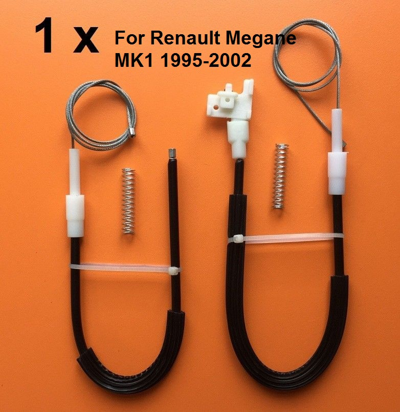 For Renault Megane MK1 1995-2002 Window Regulator Repair Kit Rear Right Side