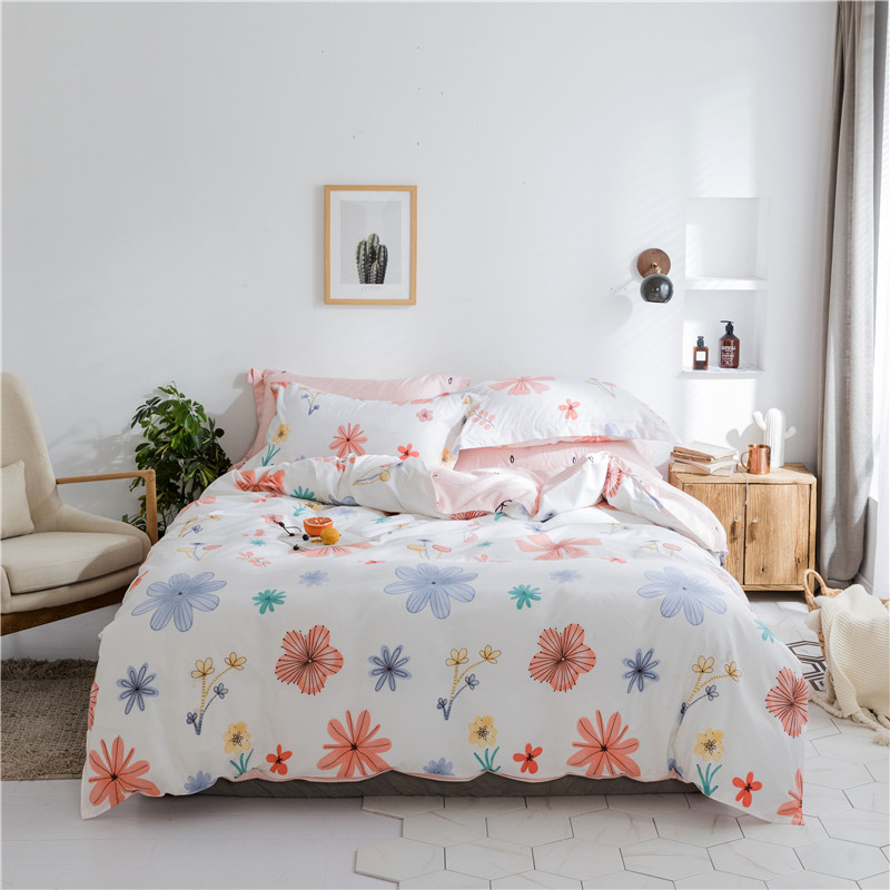 Romantic American Country Style Vintage Floral Bedroom Set,Designer Shabby Girl Bedding Set Modern Flowers pink white BedclothesRomantic American Country Style Vintage Floral Bedroom Set,Designer Shabby Girl Bedding Set Modern Flowers pink white Bedclothes