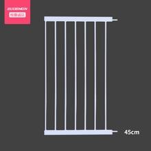 Blanc panneau barrière de sécurité panneau étendre 10 cm-45 cm