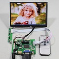 HDMI VGA 2AV LD1 N070ICG tablero de regulador del LCD con 7 pulgadas 1280x800 IPS lcd 39pin Reversión