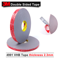 3M double sided tape/3M VHB 4991 acrylic adhesive/Outstanding durability performance/ 8mm*16.5m*5rolls/we can offer other size