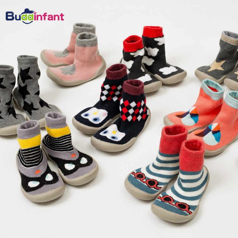 winter warm socks baby boys girls shoe