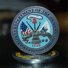 Free Shipping 100pcs/lou,US Army Ranger Challenge Coin - Rangers Lead The Way