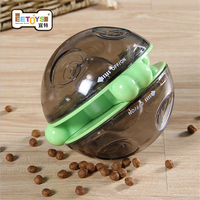B Pets Smarter Interactive IQ Treat Ball Dog Toy Pet Dog Puppy Chew Toys Ball Play For Training Thermal Plastic Ball Toy