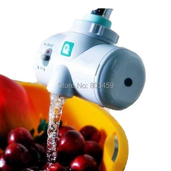 Auto-Alimentação de água Gerador de Ozônio Ozonizador O3 Torneira Casa Filtro Purificador De Água De Lavagem De Frutas Face Vegetal Esterilizador