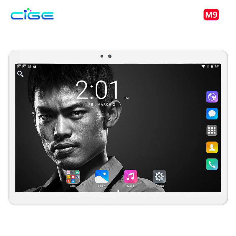 2018 New Free Shipping 10.1 Inch Tablet PC Octa Core 4GB RAM 64GB ROM Dual SIM Cards 4G LTE Android 7.0 GPS Tablet PC 10.1