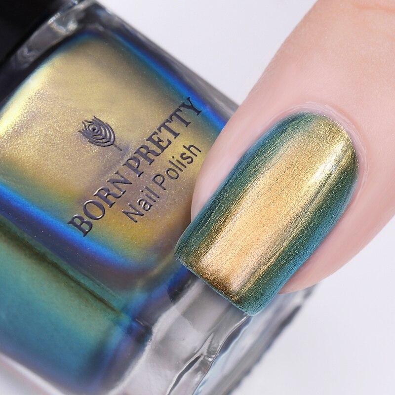 BORN PRETTY 6ml Chameleon Nail Stamping Polish Colorful Nail Art ...