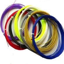 Atacado corda de raquete badminton BG-95 bg65 bg80 durável alta elástica badminton linha pçs/lote