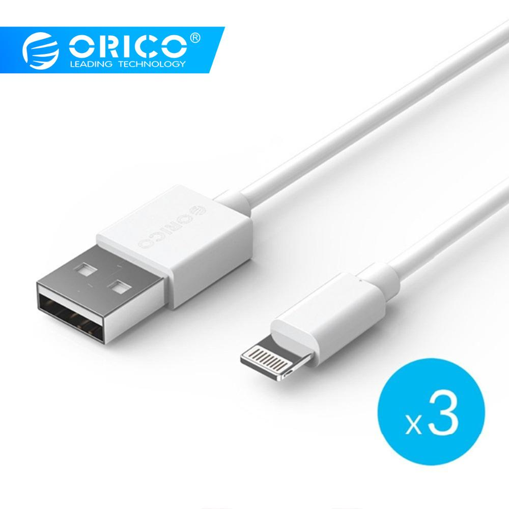 ORICO Premium Cable for iPhone Lighting to USB Cable Charging USB Cable Sync for iPhone 6 7 8 White 1mORICO Premium Cable for iPhone Lighting to USB Cable Charging USB Cable Sync for iPhone 6 7 8 White 1m