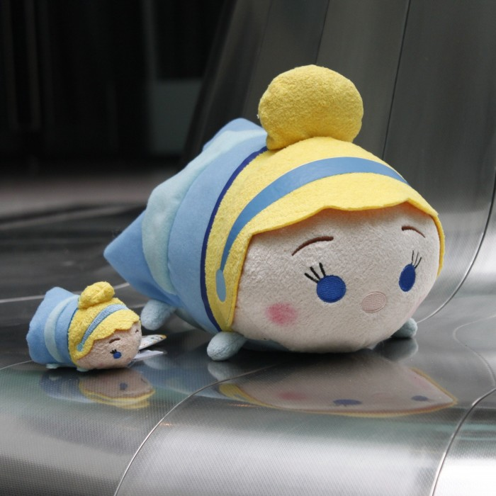 New Arrival Tsum Tsum Cinderella Girl Princess Cute Soft Stuffed Plush Toy Doll Birthday Gift Baby Gift Limited Collection 2pcs understanding international social work