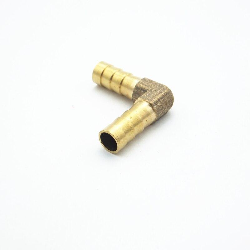 Unsicher Verlegen 8mm Schlauch Barb Ellenbogen Messing Stacheldraht Rohr Fitting Koppler Stecker Adapter Für Kraftstoff Gas Wasser Selbstbewusst Befangen Gehemmt