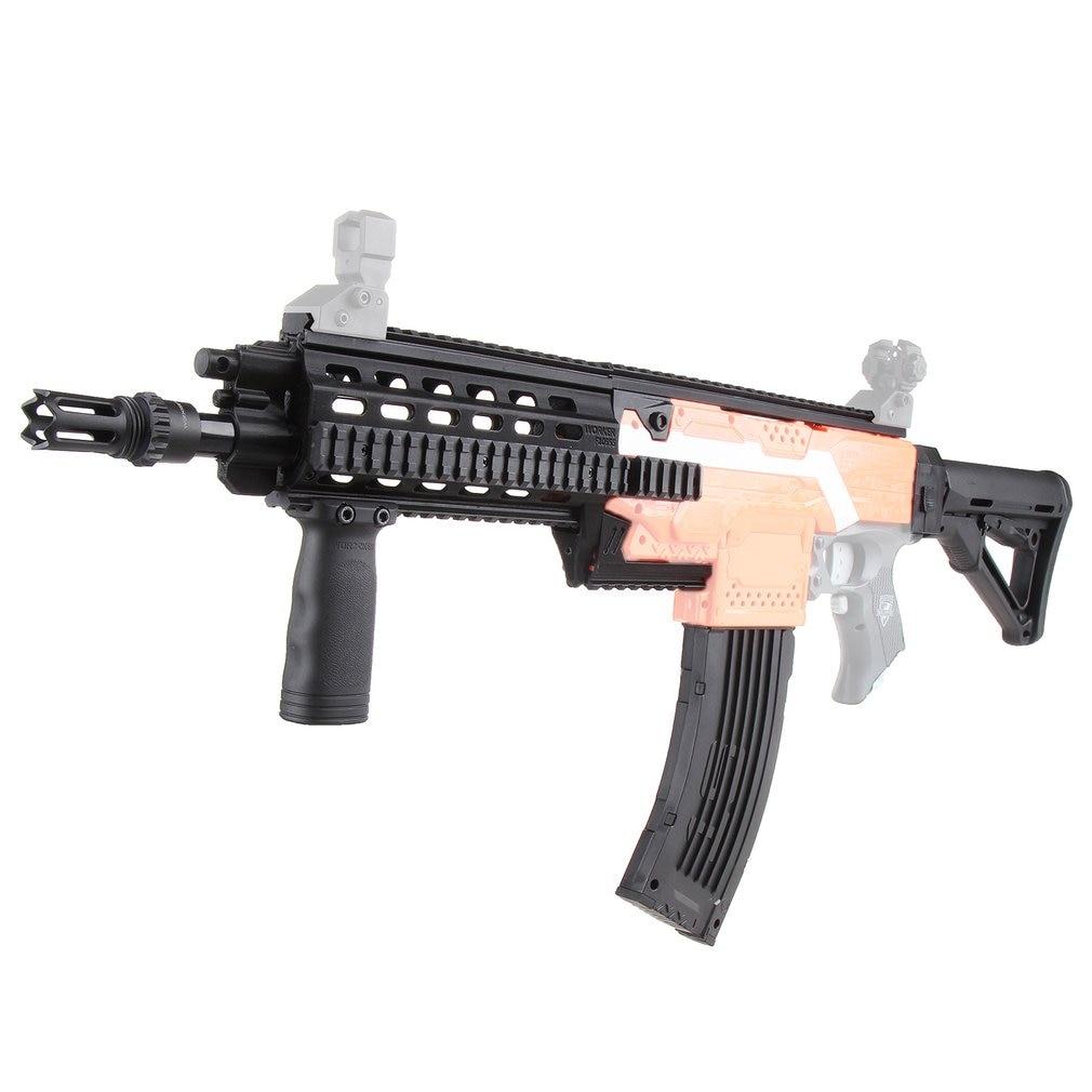 Ouvrier jouet pistolet pièces bricolage 3D impression Durable en plastique Mod étendre baril habiller Kits Combo 17 articles pour Nerf STRYFE modifier jouets
