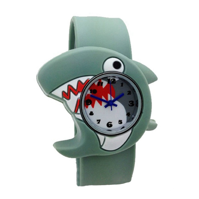 Permalink to Children's Watches Cartoon Kids Wrist Baby Watch Clock Quartz Watches for Gifts Relogio Montre shark