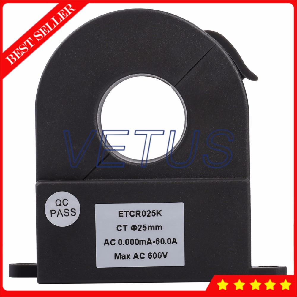 ETCR025K Split Type CT AC Current Sensor of High Accuracy Leakage current measurement цена