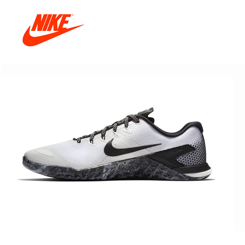 Original New Arrival Authentic NIKE METCON 4 AH7453 Mens Running Shoes Sneakers Comfortable Breathable nike original new arrival mens skateboarding shoes breathable comfortable for men 902807 001