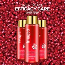 IMAGES Red pomegranate Tender skin water toner Protect wet water Facial treatment Plant toner skin care anti acne,shrink pores