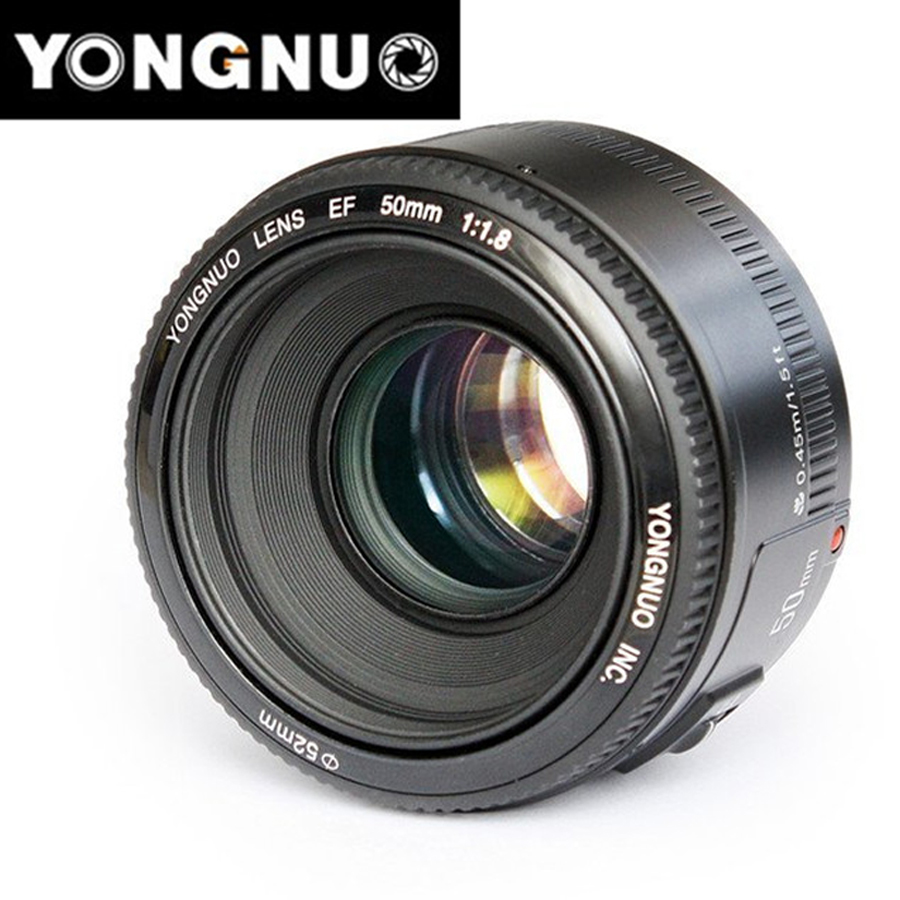 YN50mm F1.8 C Lens Large Aperture Auto Focus Lens 50mm/f1.8 for Canon EOS DSLR CamerasYN50mm F1.8 C Lens Large Aperture Auto Focus Lens 50mm/f1.8 for Canon EOS DSLR Cameras