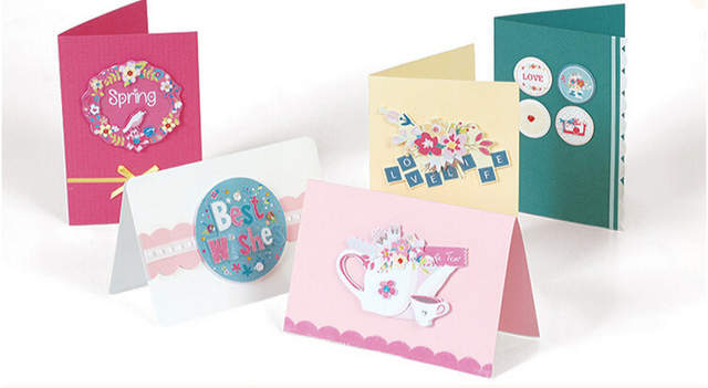 Online Shop Eno Greeting ENO Paper Card Craft Making Supplies For Birthday Gift Kit