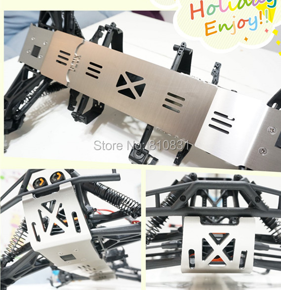 все цены на  HPI FLUX HP XL Flux 4.6 5.9 Anti - collision Protection of Chassis Armor chassis plate bottom protect rc car  онлайн
