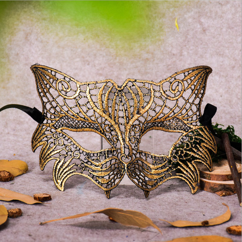 a37c4da6b9 US $0.25 2018 Brand New Fashion Sexy Lace Eye Mask Venetian ...