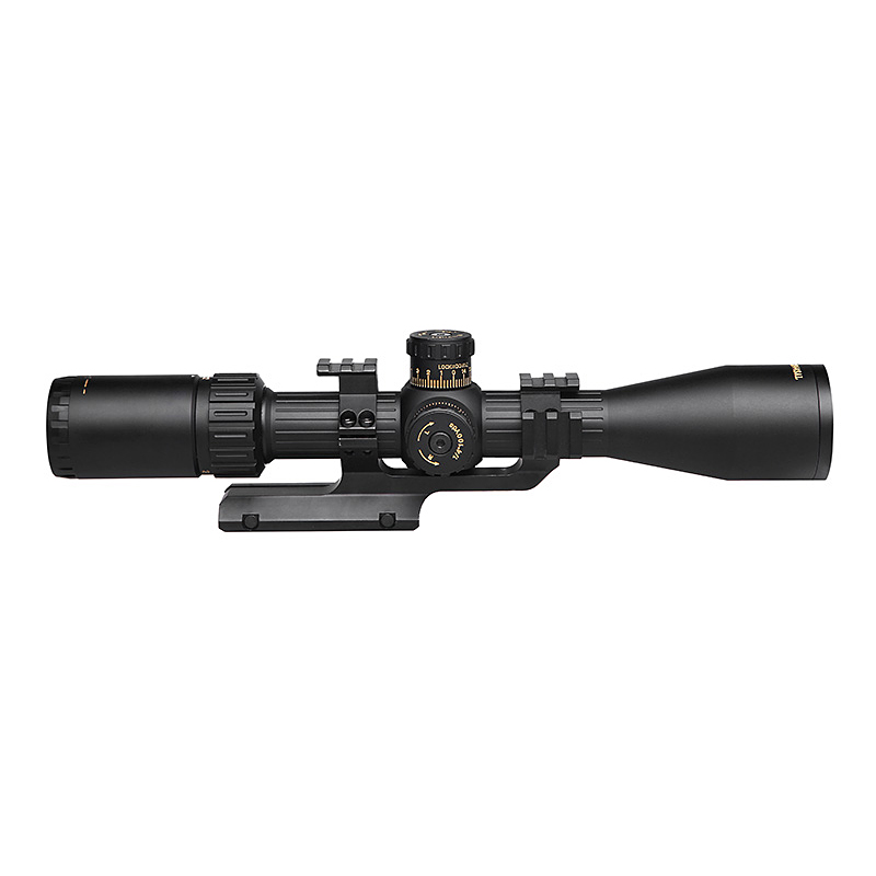 SNIPER NT2 12X44SAL Hunting Compact Riflescope Tactical Optical Sights Red Illuminated Reticle hunting optics hunting scope in Riflescopes from Sports Entertainment