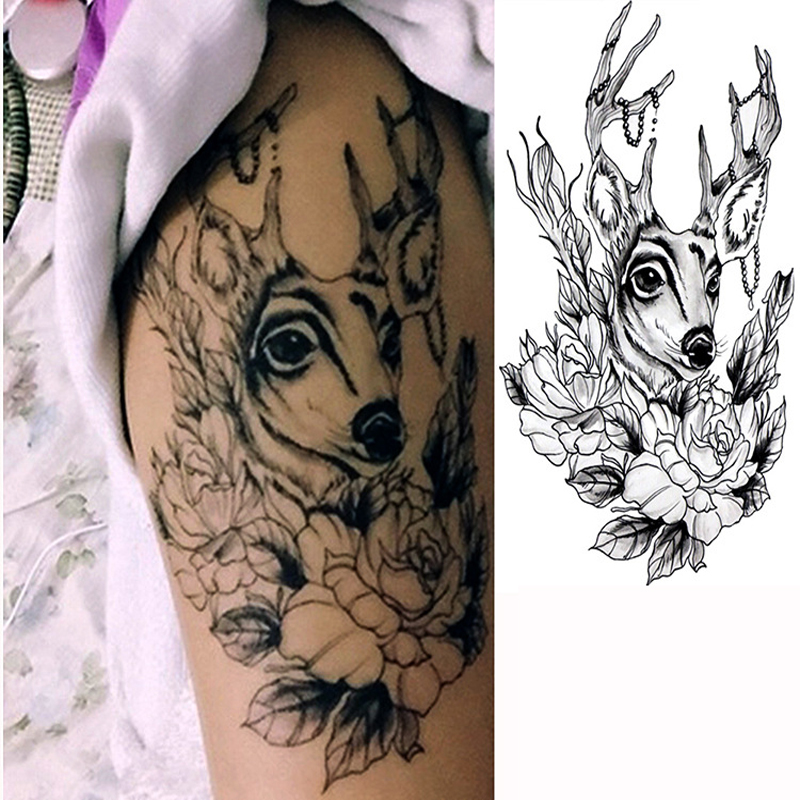 Online buy wholesale tattoo sleeve stencil from china for Henna body tattoo
