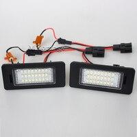 24 SMD LED Number License Plate Light Fit For SKODA Octavia 3 Superb B6 Combi Rapid