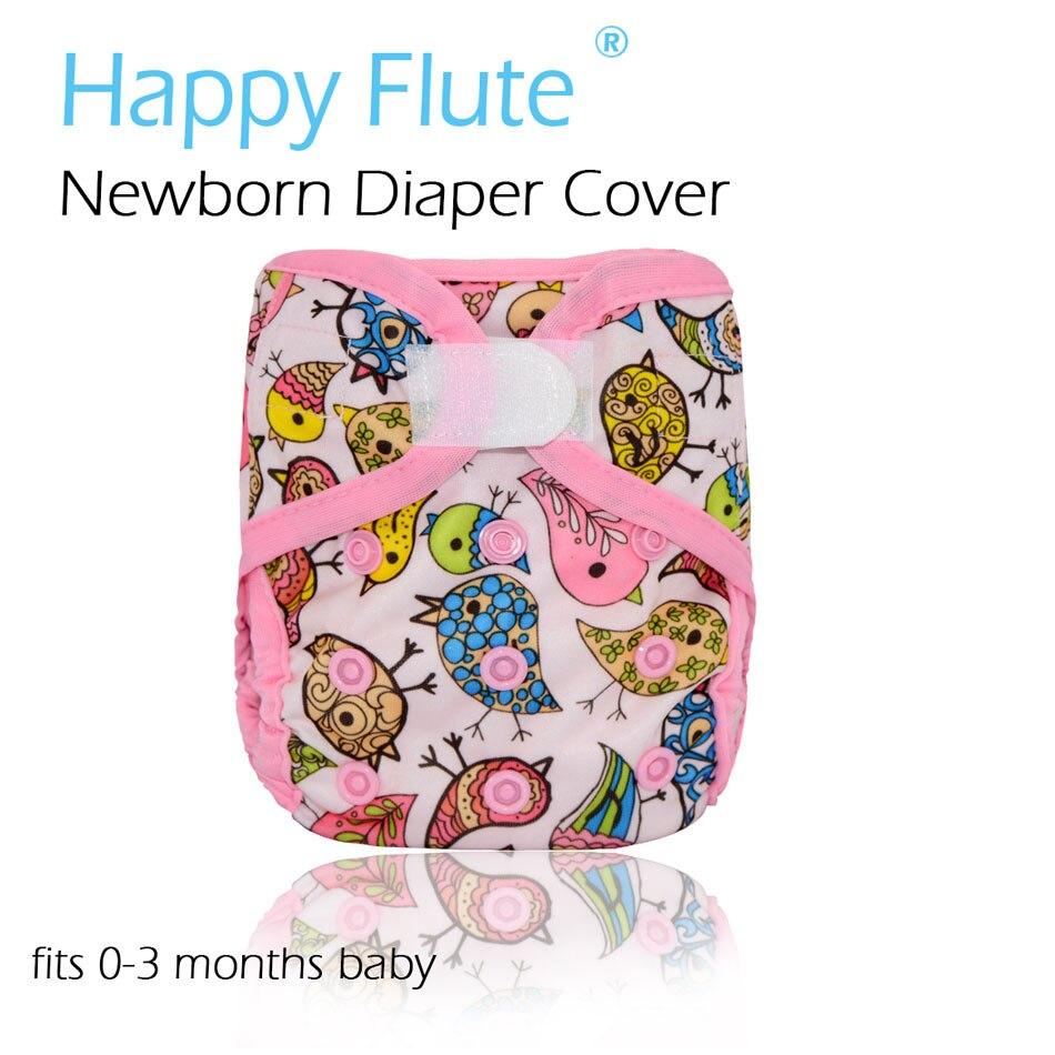 Днем Флейта новорожденных подгузник для NB ребенка, double утечка охранников, водонепроницаемый and дышащая