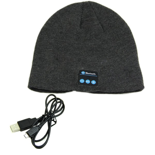 Soft Warm Beanie Hat Earphone Wireless Bluetooth Smart Cap