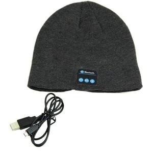 Soft Warm Beanie Hat Earphone
