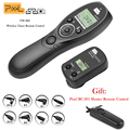 Pixel TW-282 Shutter Release Wireless Timer Remote Control for Canon 700d 1200d 7d Nikon d3300 d3200 d5100 Sony Pentax Olympus