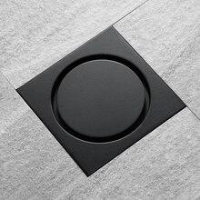 HIDEEP черный классический дизайн латунный кухонный фильтр Слив ванная комната дезодорирующий Тип трап