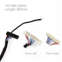 400mm LVDS כבל FIX 30P D8 1ch 8 סיביות 30 סיכות 30pin יחיד 8 קו עבור 26 47 אינץ גדול מסך פנל 2 מודלים