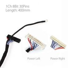 400mm LVDS cavo FIX 30P D8 1ch 8 bit 30 pin 30pin singola linea 8 per 26 47 pollici grandi modelli del pannello 2 dello schermo