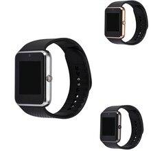 GT08 Bluetooth Smart Uhr tragbare geräte Unterstützung SIM TF Karte Smartwatch Für apple Android OS telefon pk dz09 f69